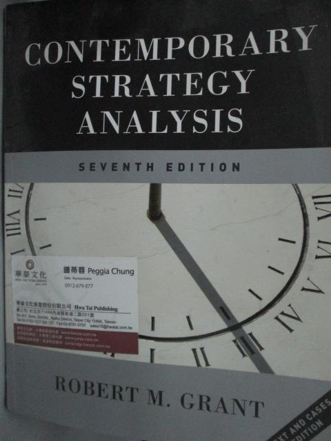 ~書寶 書T7/大學商學_YHS~Contemporary Strategy Analys