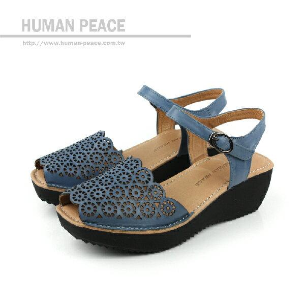 HUMAN PEACE 涼鞋 藍 女款 no108