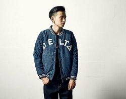 韓國 保暖 棒球外套 潮流 外套 星星 貼條 刺繡 ZNIF ZETIC 牛仔藍 夾克 保暖 鋪棉 外套