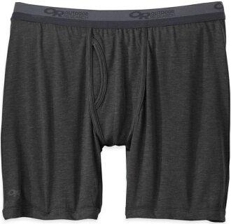 Outdoor Research 男性內著/運動內褲/排汗內褲 美麗諾羊毛四角內褲(男) Sequence 242875 0001黑