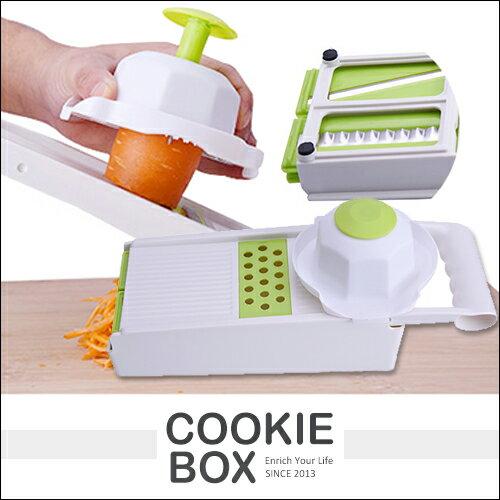 多功能廚房家用切菜刨絲器削菜器廚房神器土豆絲切片切絲花片波浪削蘿蔔刨絲神器*餅乾盒子*