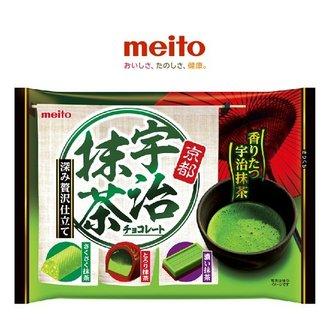 meito名糖冬之戀宇治抹茶巧克力 140g【建議選用低溫宅配】