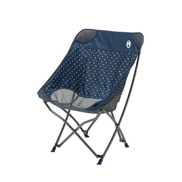 《台南悠活運動家》Coleman美國海軍藍圓點療癒椅CM-31283