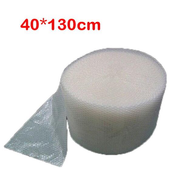 糖衣子輕鬆購【AA00】泡泡紙氣泡膜加厚實用型氣泡卷、泡棉包裝氣泡長度(40*130cm一捲)