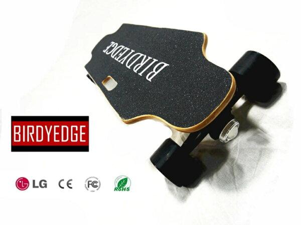 BIRDYEDGE電動滑板黑色PLUS公路版街頭滑板【迪特軍】