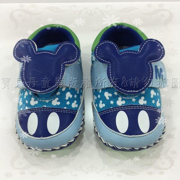 ☆╮寶貝丹童裝╭☆正版 台灣授權 迪士尼 米奇 造型 亮彩 輕巧 寶寶 健康 學步鞋 Baby鞋 現貨