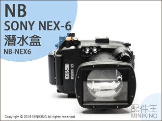 【配件王】現貨 NB公司貨 潛水盒 Sony NEX-6 NEX6 防水盒 潛水殼 浮潛 相機防水 浮潛游泳 防水殼