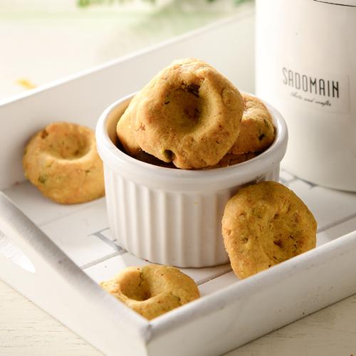 咖哩酥餅 手工餅乾  蛋奶素 100克/包