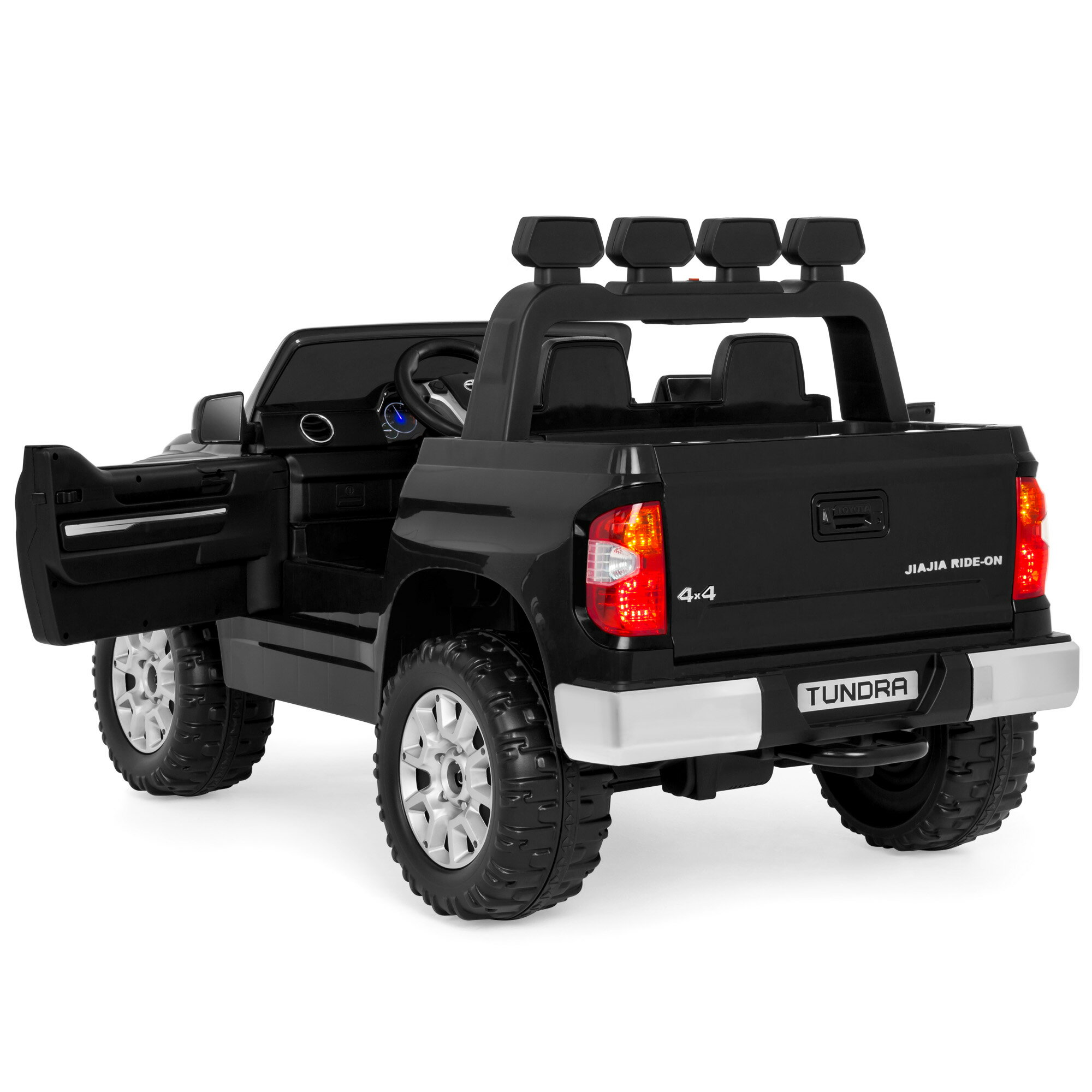 57f557ec8 Best Choice Products 12V Kids Battery Powered Remote Control Toyota Tundra  Ride On Truck - Black