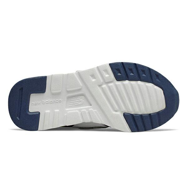 Shoestw【PZ997HCJ】NEW BALANCE NB997 中童鞋 運動鞋 黏帶 免綁帶 Wide 網布 白深灰螢黃 3