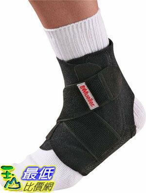 [106美國直購] Mueller 護踝帶 Adjustable Ankle Stabilizer, Black, One Size