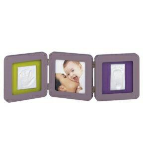 比利時【Baby Art】Double Print Frame手腳印紀念雙相框(白/灰) - 限時優惠好康折扣