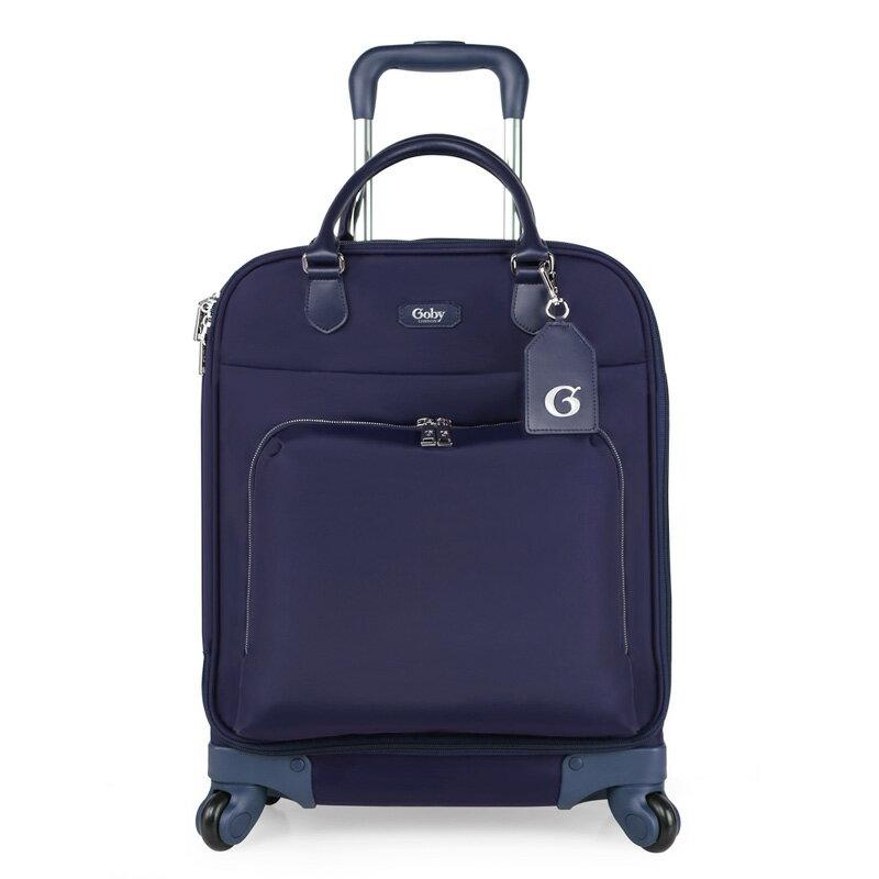 GOBY果比 Palmer系列-20吋4輪多功能登機拉桿箱-燕尾藍-P1522 [禾雅時尚]