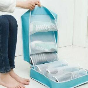 美麗大街【BF325E10】SAFEBET旅行六格防塵鞋子收納袋整理包