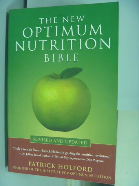 【書寶二手書T1/大學理工醫_QFK】The New Optimum Nutrition bible