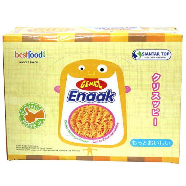 餅之鋪食品暢貨中心:Enaak-小雞點心麵(30入)480g盒