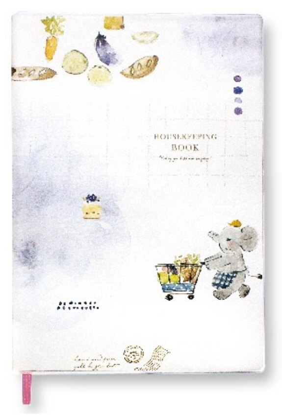ZAKKA 25K家計簿-小象 BHK-27A《品文創》