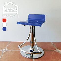 吧檯椅 高腳椅 升降椅【YCN037】精品壓克力質感低背簡約升降吧檯椅 Amos