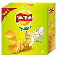 中元節普渡拜拜供品到樂事洋芋片重量包-奶焗香蔥260g【愛買】