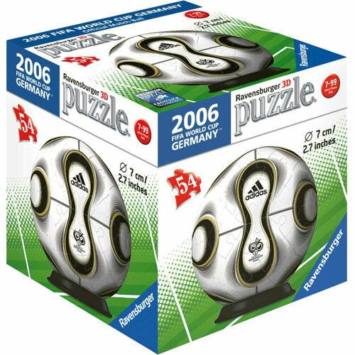 《德國Ravensburger維寶》維寶拼圖-2006世界盃指定球3D拼圖(54P)