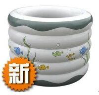在家泡湯推薦到新環保加厚 五環嬰兒/寶寶游泳池 充氣浴桶 SPA泡澡桶 印花水池就在小工人推薦在家泡湯