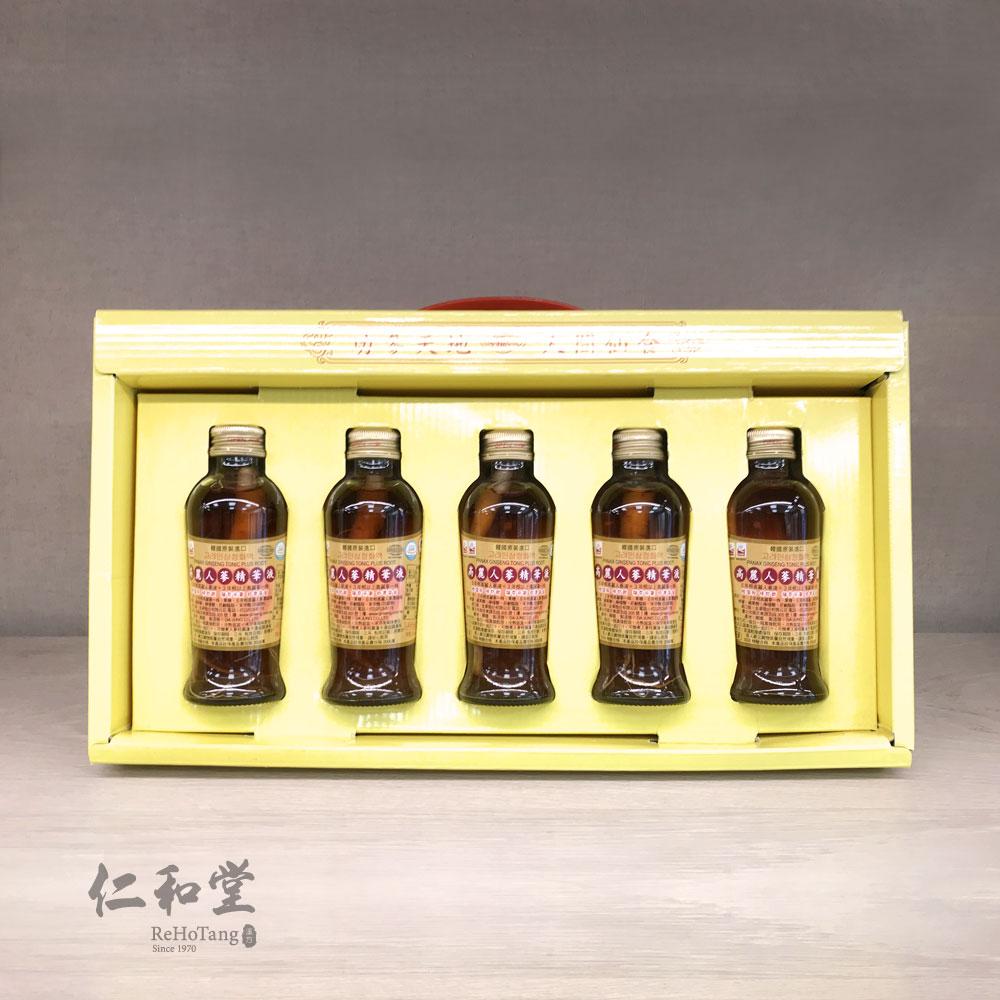 金蔘高麗人蔘精華液(120ml x 5瓶)/ 六年根高麗蔘濃縮液