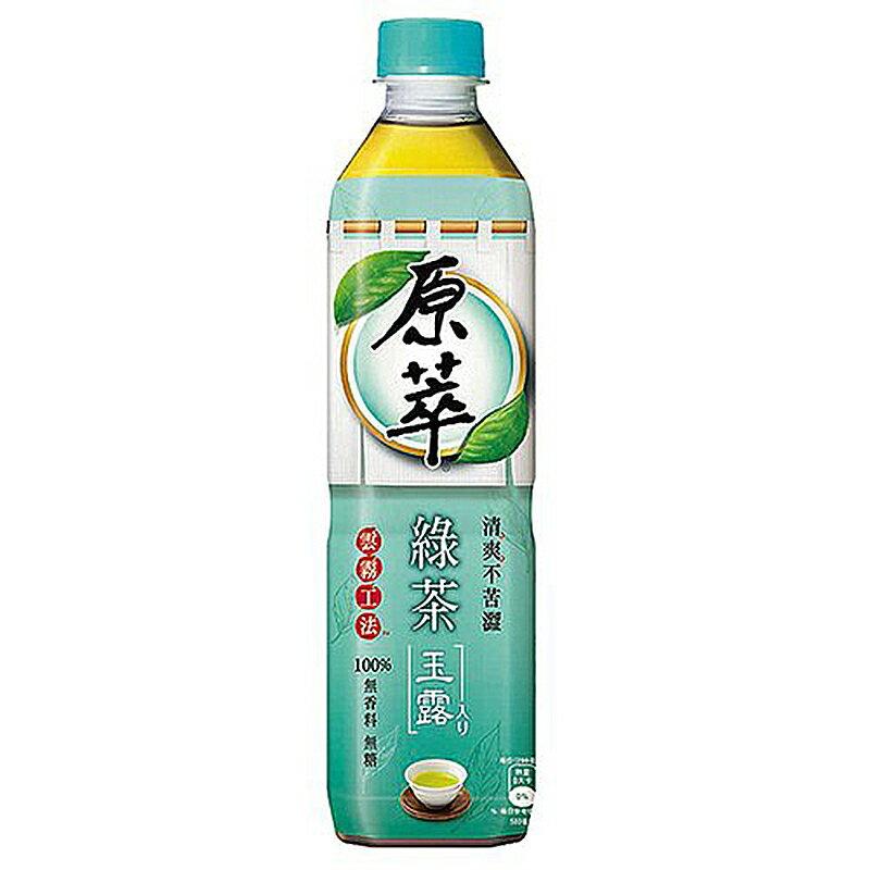 原萃 綠茶玉露 580ml (4入)/組【康鄰超市】