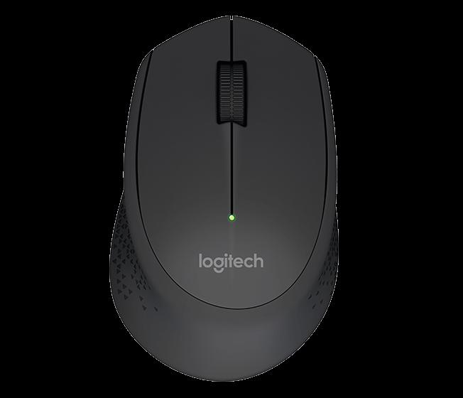 【領券最高現折$1200+高點數回饋】Logitech 羅技 M280 無線滑鼠 黑色