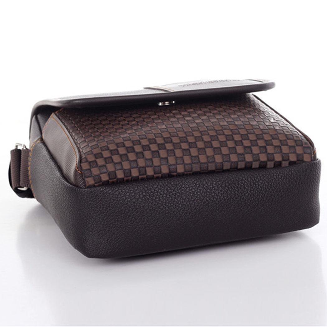 Men's Synthetic Leather Handbag Messenger Briefcase 2