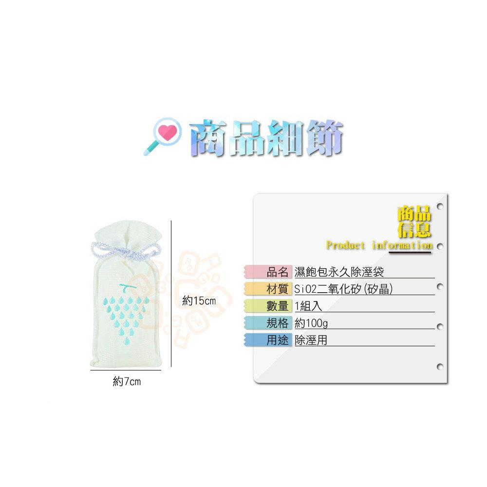 ORG《SD1170a》台灣製~矽晶水玻璃 可重複使用 永久除濕袋 除濕包 除濕劑 除溼袋 除溼包 衣櫥衣櫃 臥室 環保 4