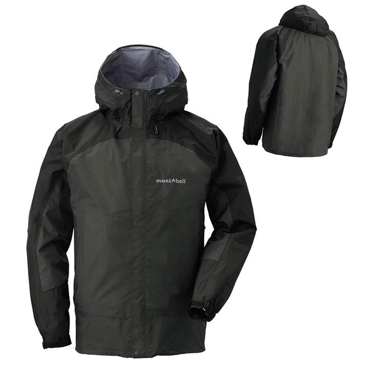 【【蘋果戶外】】mont-bell 1128344 黑 日本 男 防水透氣外套 類Gore-tex 防水外套 雨衣 風衣 風雨衣