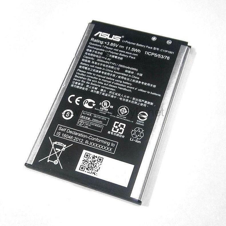 ASUS 華碩 C11P1501 原廠電池 Zenfone2 Laser ZE550KL ZE601KL 3000mAh