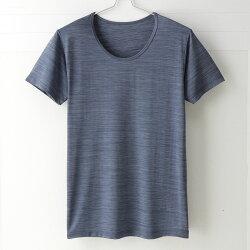 【MIGER密格內衣】型男涼爽吸排好觸感圓領短袖衫。可呼吸超細纖維(時尚藍)-台灣製-(編號:FA38601)