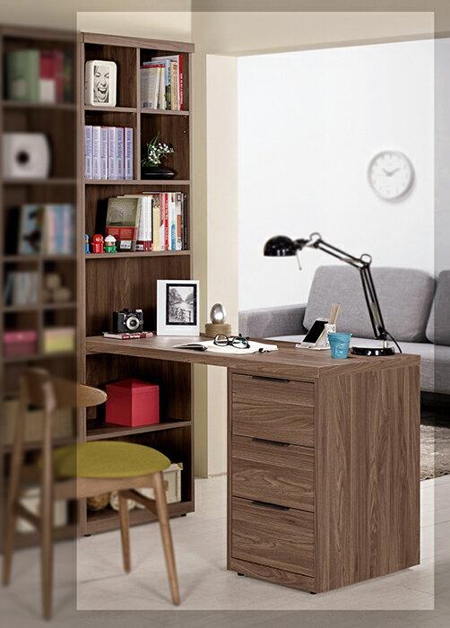 【尚品家具】CM-360-1 諾艾爾4尺L型書桌(不含椅)