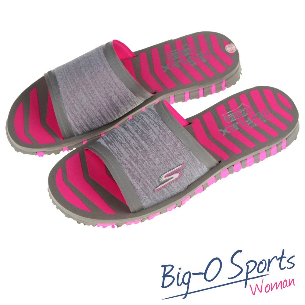 SKECHERS GO FLEX 休閒拖鞋 女 14260GYHP  Big-O Sports