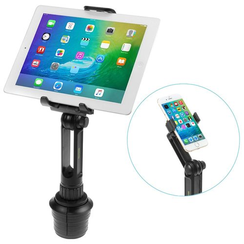 Auto Tablet Holder with Earbuds 2 Counts
