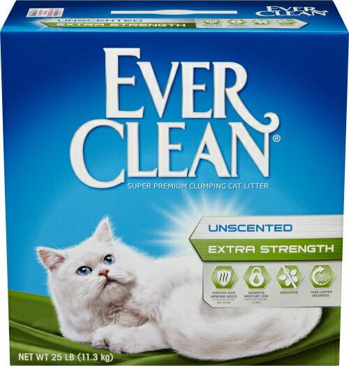 EverClean 強效無味低敏結塊貓砂