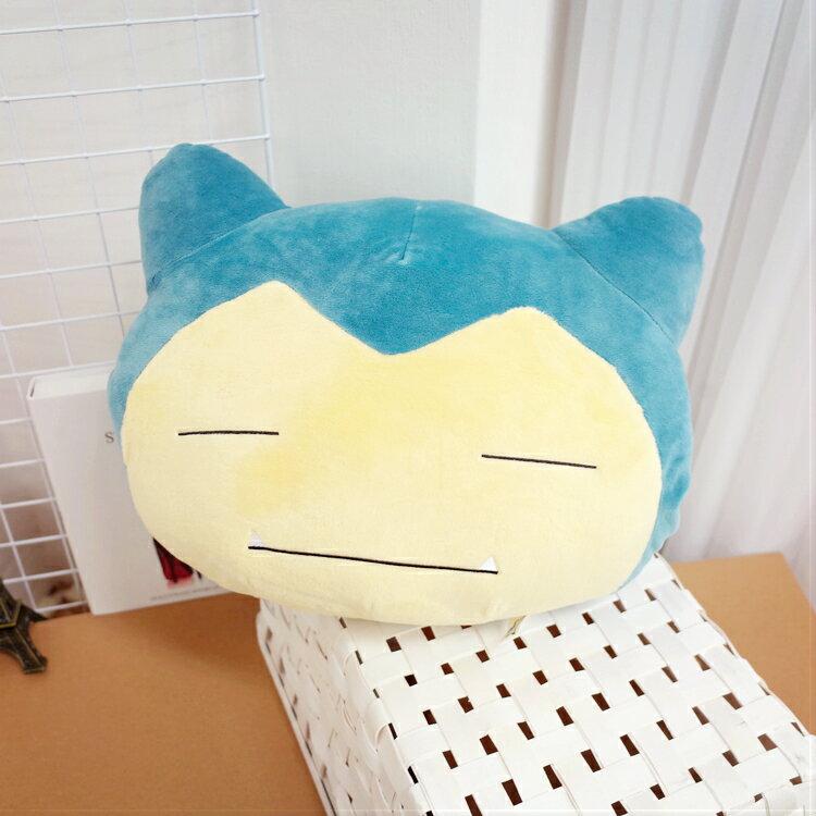 PGS7 日本卡通系列商品 - 12吋 卡比獸 Snorlax 暖手枕 神奇寶貝 寶可夢 抱枕 娃娃 玩偶【SJK7175】