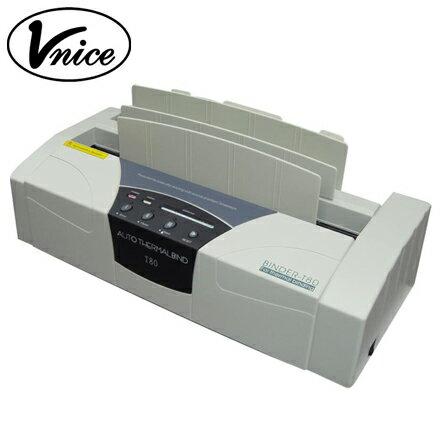 Vnice 維娜斯桌上型電子式膠裝機 T~80  台