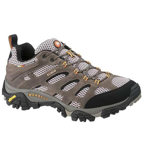 【【蘋果戶外】】Merrell J87107『零碼鞋』淺棕/黑 男款 登山鞋 MOAB GORE-TEX XCR 100%防水透氣登山健行鞋 健走 黃金大底 避震 ML87107