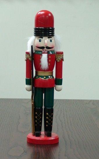 ~Playwoods~ ^~胡桃鉗^~芭蕾愛情童話的糖果王國  木製人偶~衛兵版:步槍小兵