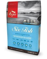 貓/Orijen渴望六種魚+海藻 愛貓 5.45kg