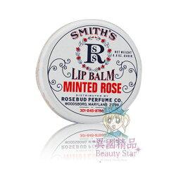 Smith s Rosebud 薄荷尤加利/薄荷玫瑰膏/摩卡玫瑰香草精油/草莓護脣膏【特價】§異國精品§