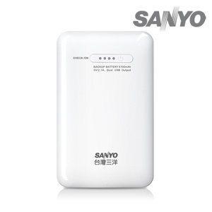[nova成功3C]SANYO 三洋高效能 (SYPP-02) 8700mAh行動電源 行動電源買十送一