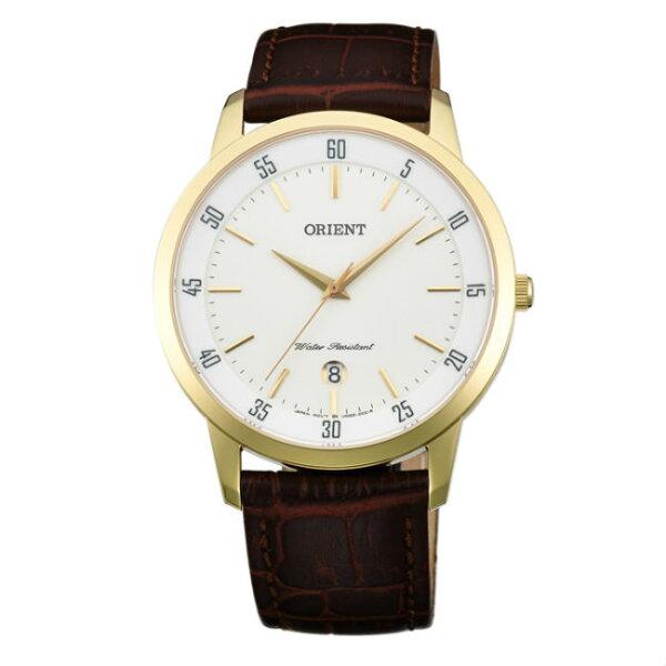 Orient東方錶(FUNG5002W+FUNG6003W)中性時尚腕錶白面39+31mm共兩只