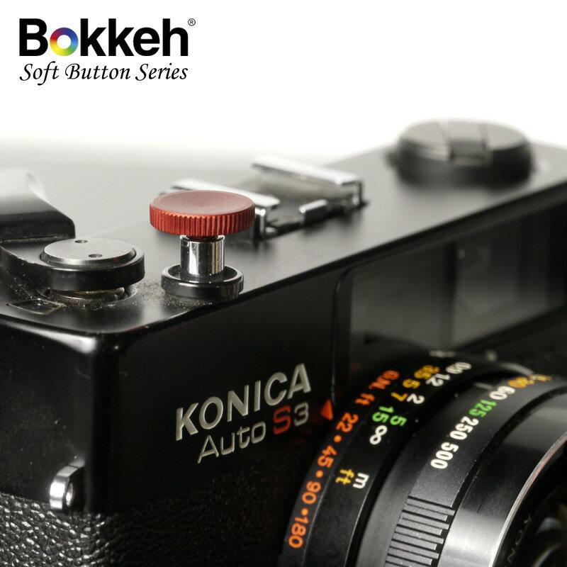 [享樂攝影] 傳統單眼機械相機快門鈕 12mm 霧面 紅色 外接快門按鈕 手動相機 Lomo相機 標準螺孔式快門孔都可以用喔!
