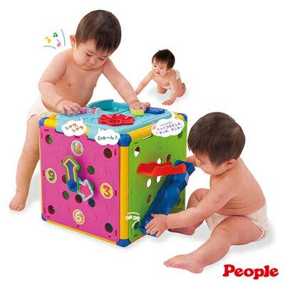 【悅兒樂婦幼用品?】Weicker 唯可 People 新動動腦力體力玩具箱