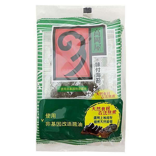 高岡屋 味付海苔(6束) 5.75g