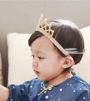 韓版新款歐美寶寶女童公童星星皇冠公主髮帶髮飾頭飾品