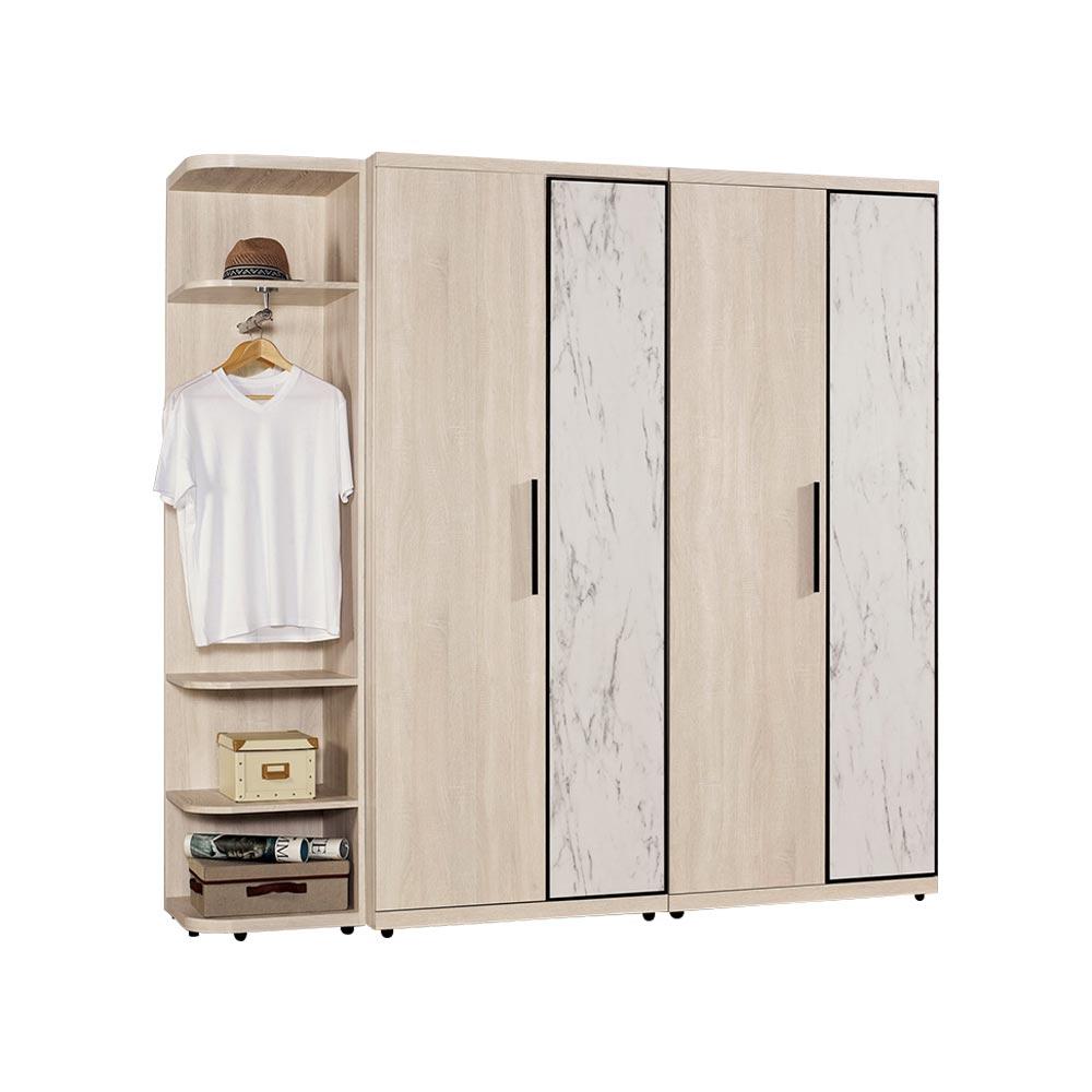丹妮拉6.9尺組合衣櫥(全組)/H&D東稻家居